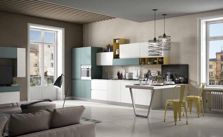 Cucine artigiali su misura 40 – Linea Arianna – Firenze Arredament