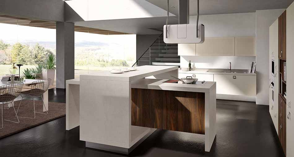 Cucine artigiali su misura 47 – Linea Lounge – Bruni Arredamenti