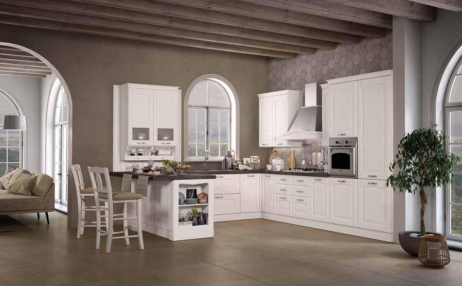 Cucine artigiali su misura 49 – Linea Lucrezia – Bruni Arredamenti