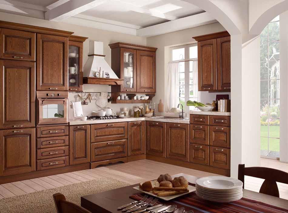 Cucine artigiali su misura 58 – Linea Lucrezia – Bruni Arredamenti