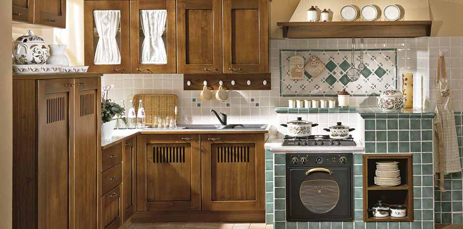 Cucine artigiali su misura 61 – Linea Medicea – Bruni Arredamenti