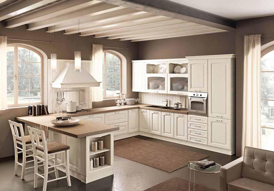 Cucine artigiali su misura 78 – Linea Lucrezia – Bruni Arredamenti