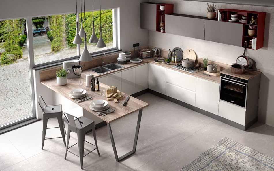 Cucine artigiali su misura 80 – Linea Arianna – Firenze Arredament