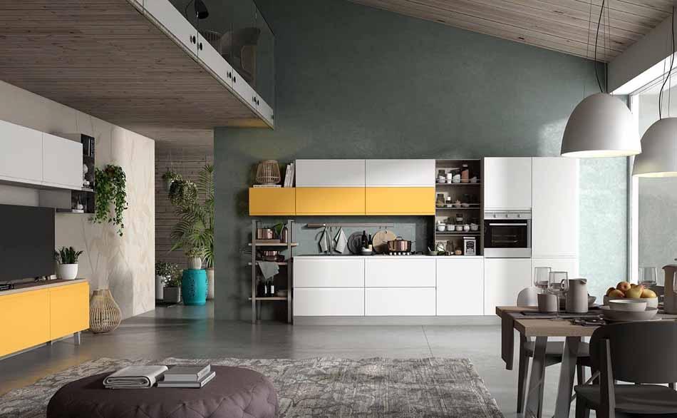 Cucine artigiali su misura 90 – Linea Arianna – Firenze Arredament