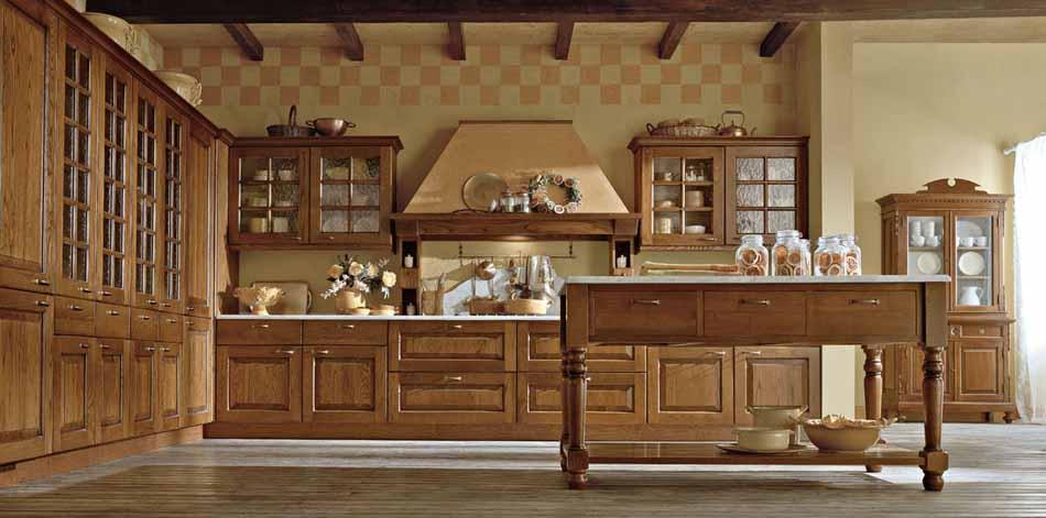Cucine artigiali su misura 91 – Linea Casale- Bruni Arredamenti