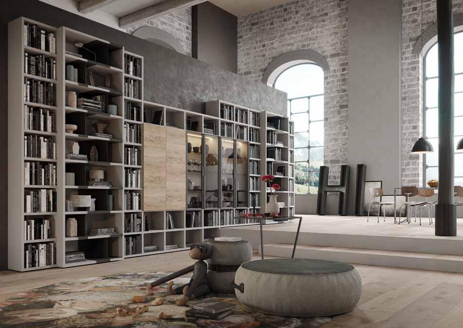 Kico Zona Librerie Moderne – Bruni Arredamenti – 107