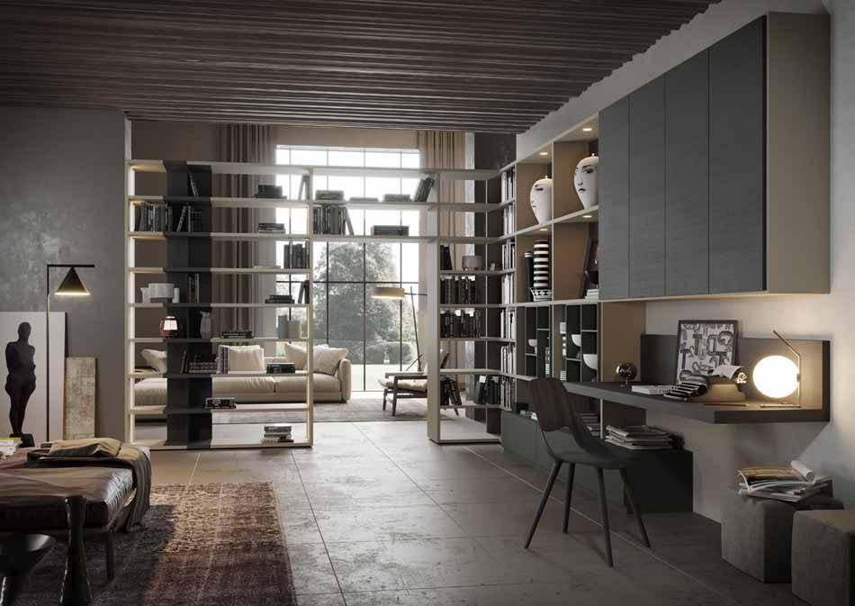 Kico Zona Librerie Moderne – Bruni Arredamenti – 110