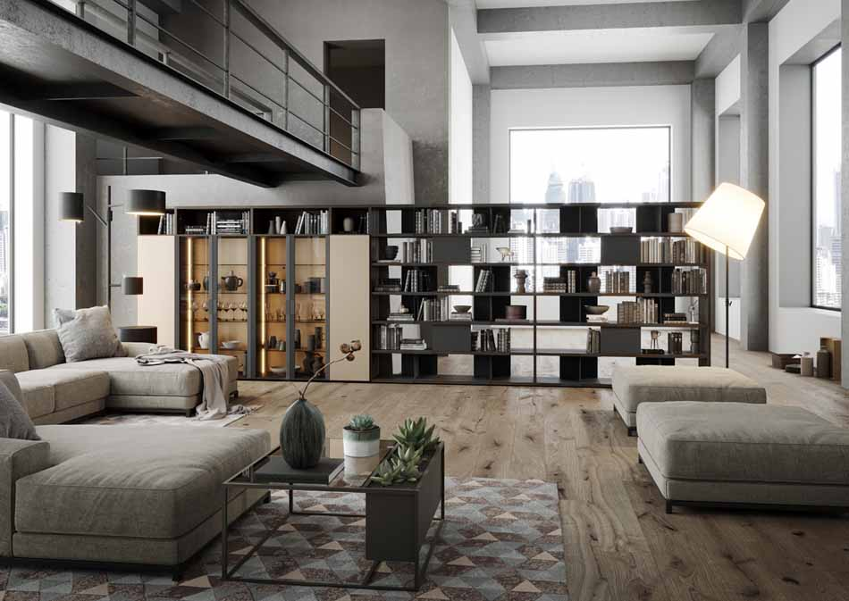 Kico Zona Librerie Moderne – Bruni Arredamenti – 111