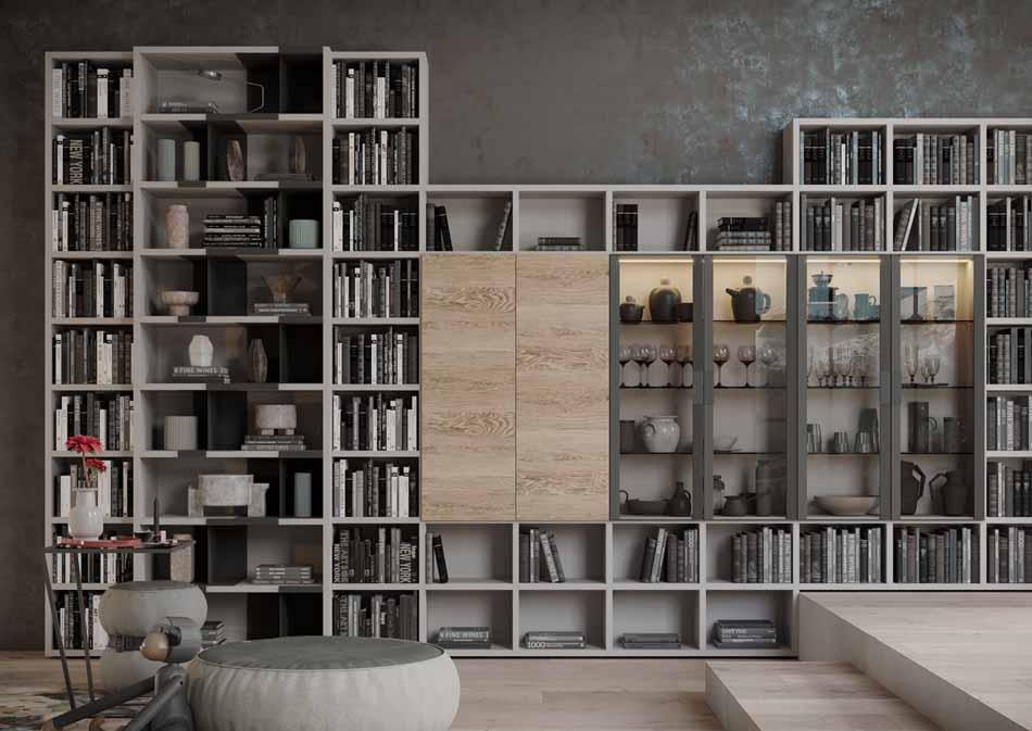 Kico Zona Librerie Moderne – Bruni Arredamenti – 112