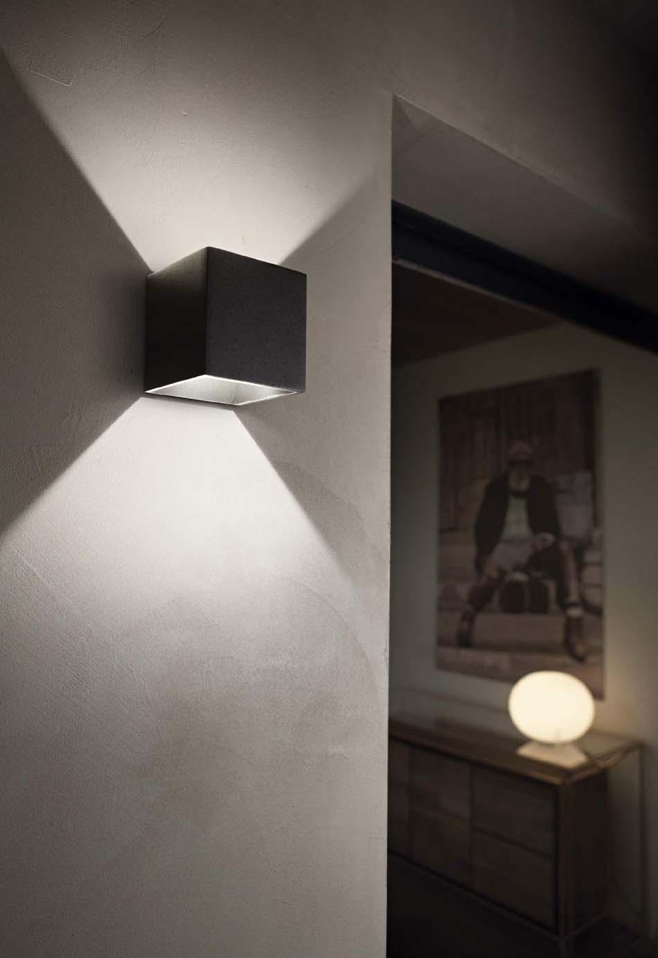 Lampade 01 Ideal Lux Rubik- Bruni Arredamenti