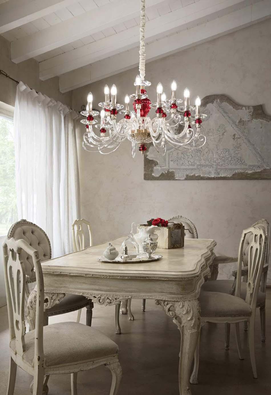 Lampade 03 sospensione Classico Ideal Lux baronet – Bruni Arredamenti