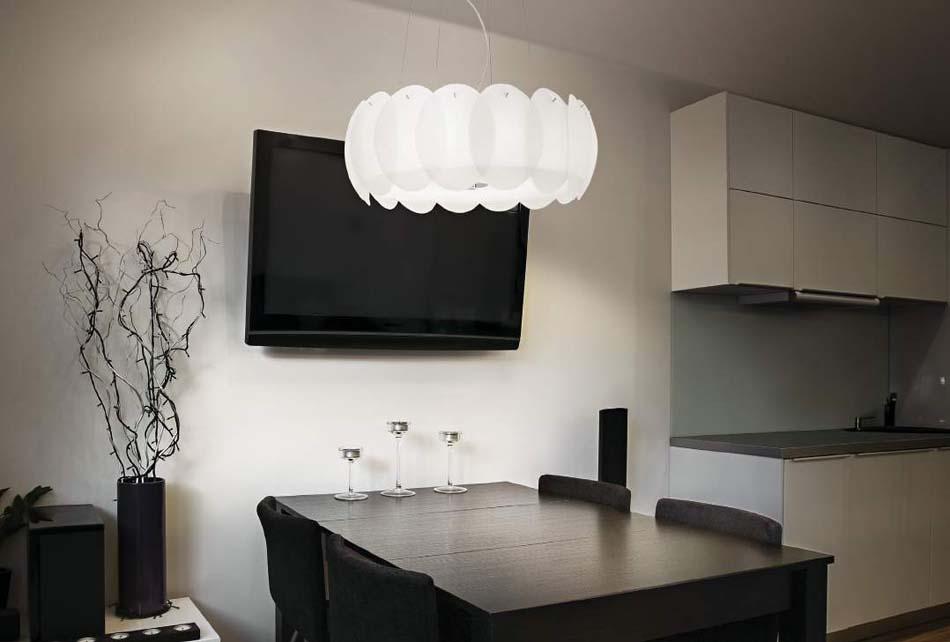 Lampade 04 sospensione Ideal Lux Ovalino – Bruni Arredamenti