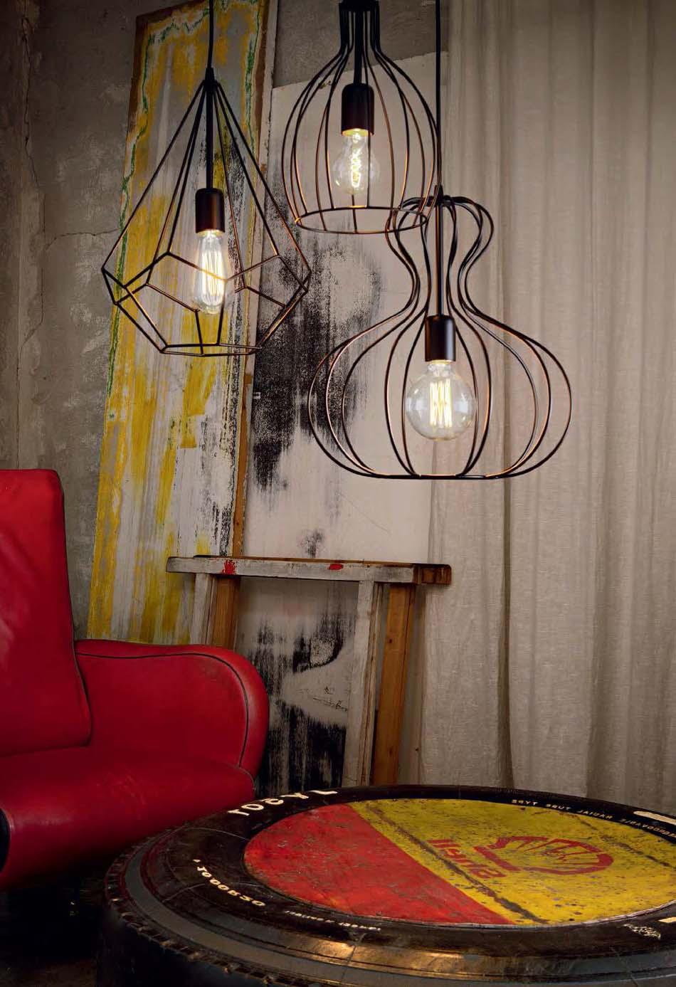 Lampade 10 sospensione Classico Ideal Lux Ampolla – Bruni Arredamenti