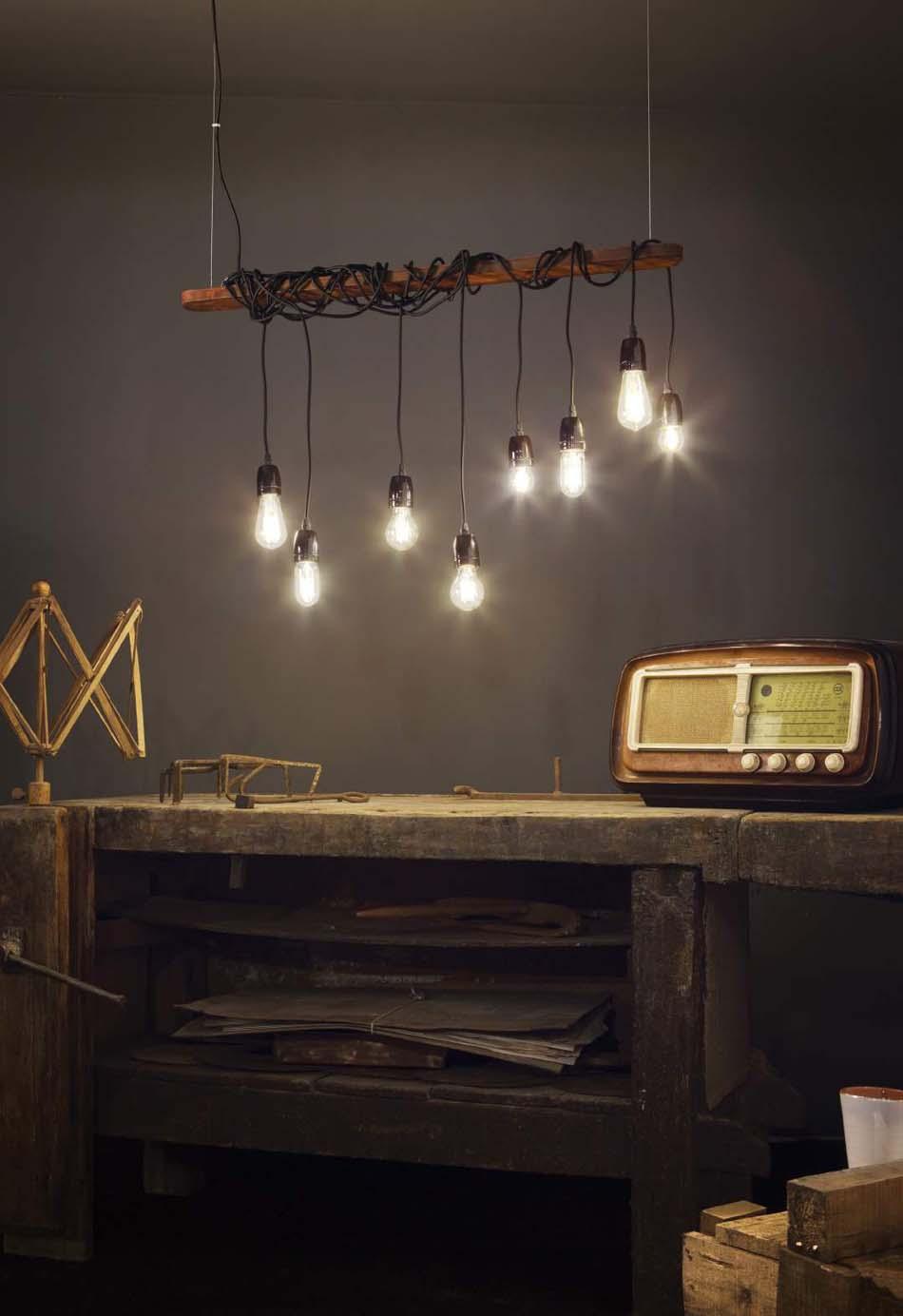 Lampade 10 sospensione Ideal Lux Electric – Bruni Arredamenti