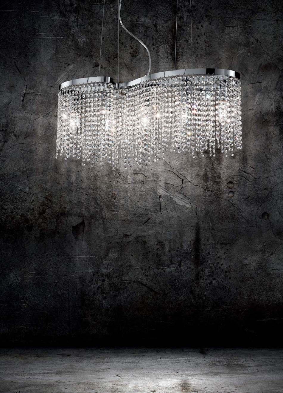 Lampade 12 sospensione Ideal Lux Aurora – Bruni Arredamenti