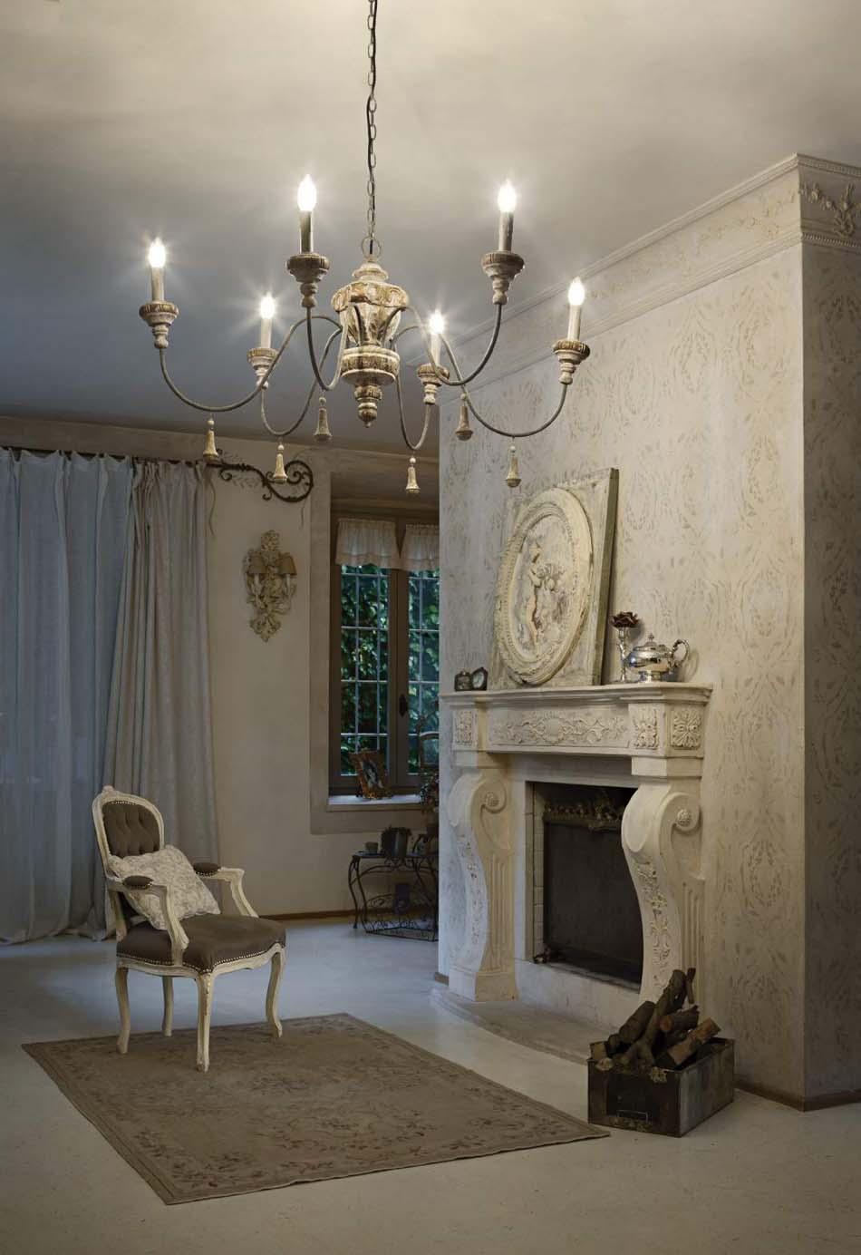 Lampade 20 sospensione Classico Ideal Lux edith – Bruni Arredamenti