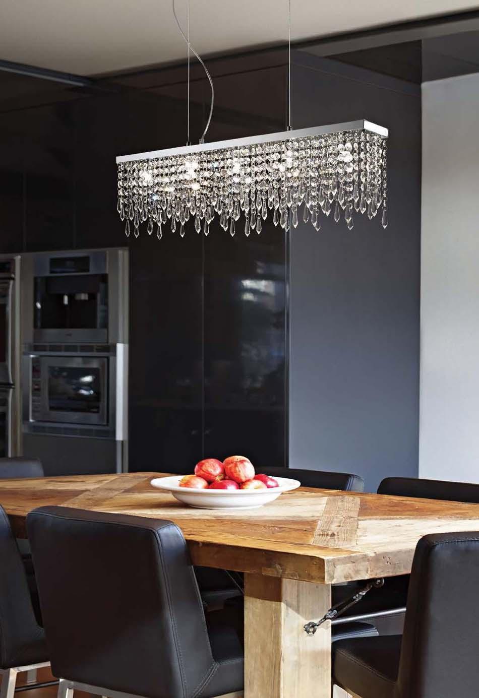 Lampade 21 sospensione Ideal Lux Giada Clear – Bruni Arredamenti
