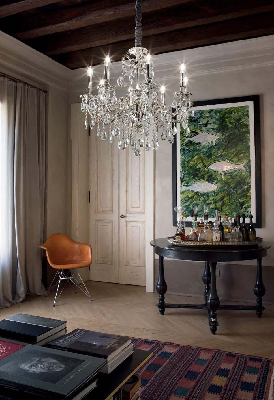 Lampade 24 sospensione Classico Ideal Lux Gioconda – Bruni Arredamenti