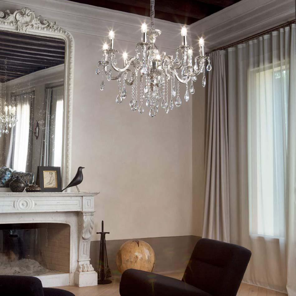 Lampade 26 sospensione Classico Ideal Lux Impero – Bruni Arredamenti