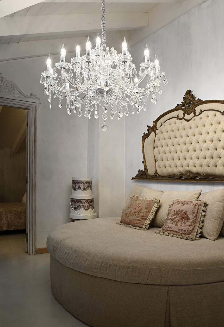 Lampade 31 sospensione Classico Ideal Lux napoleon – Bruni Arredamenti