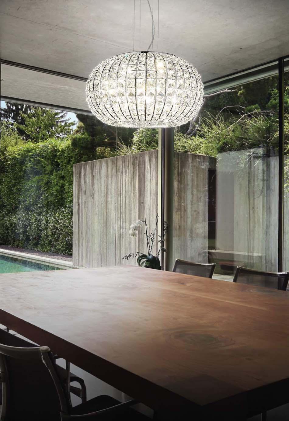 Lampade 35 sospensione Ideal Lux Calypso – Bruni Arredamenti