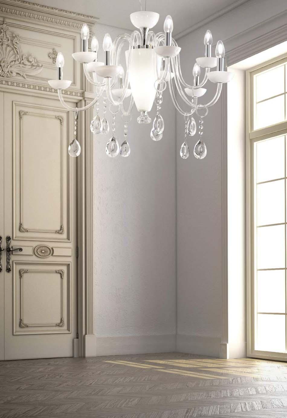 Lampade 36 sospensione Ideal Lux Camelia – Bruni Arredamenti