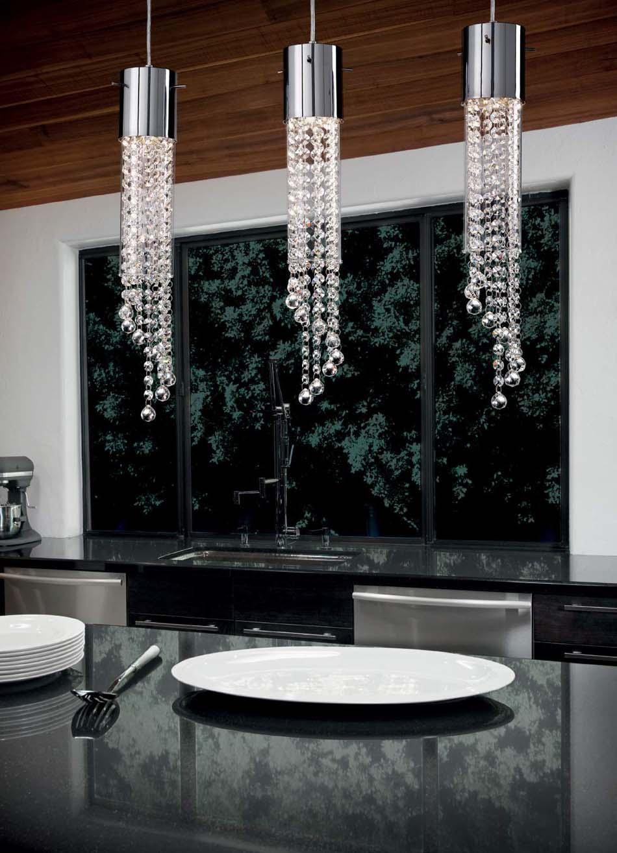 Lampade 56 sospensione Ideal Lux Gocce – Bruni Arredamenti