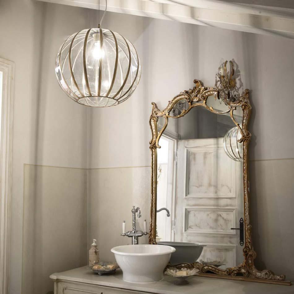 Lampade 57 sospensione Classico Ideal Lux rondo – Bruni Arredamenti