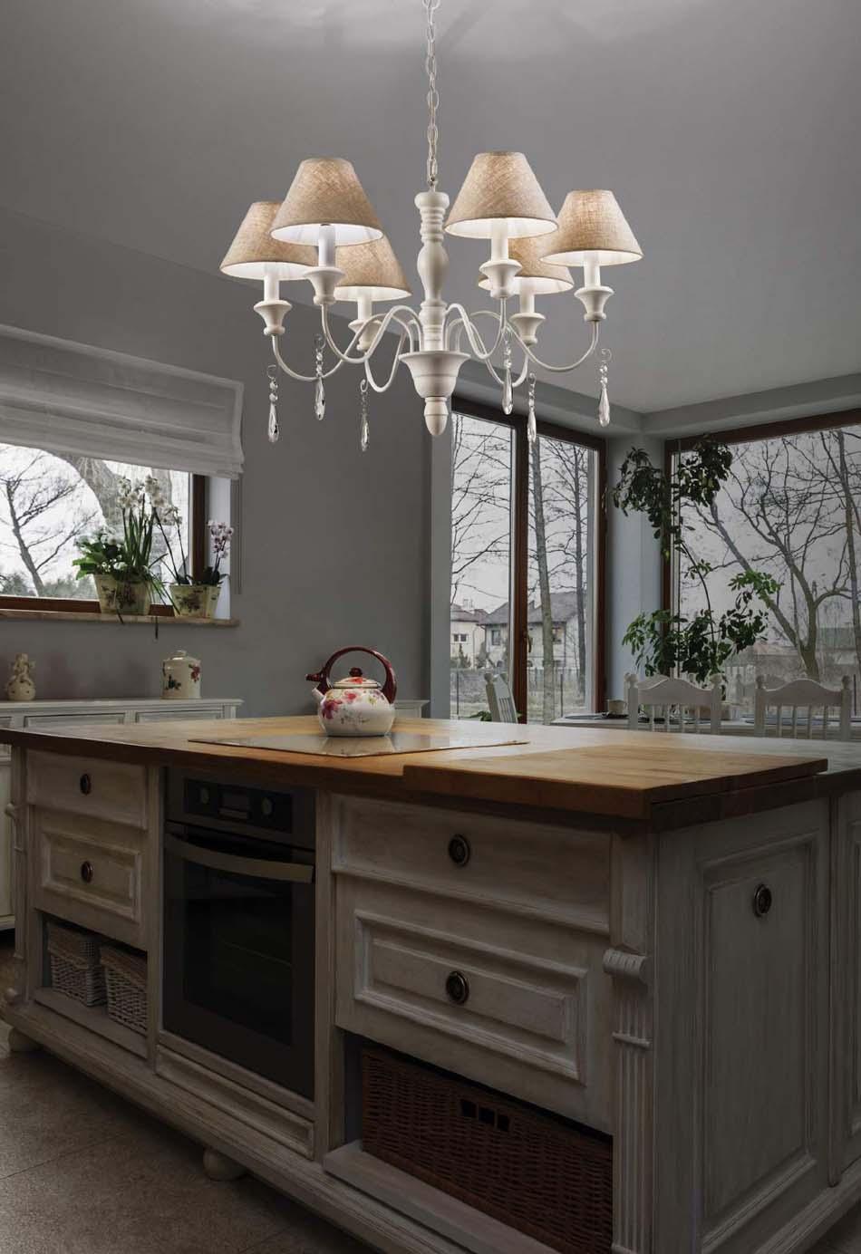 Lampade 58 sospensione Classico Ideal Lux Provence – Bruni Arredamenti