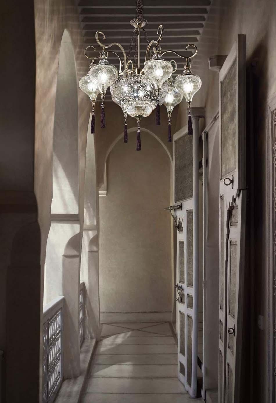 Lampade 64 sospensione Classico Ideal Lux Harem – Bruni Arredamenti