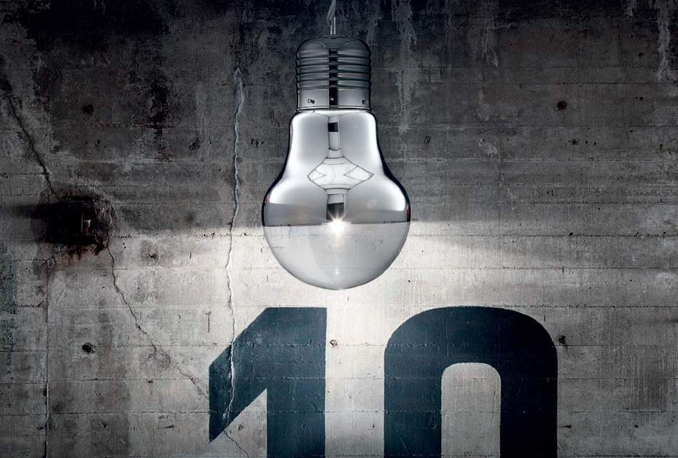 Lampade sospensione Ideal Lux Luce Cromo – Bruni Arredamenti