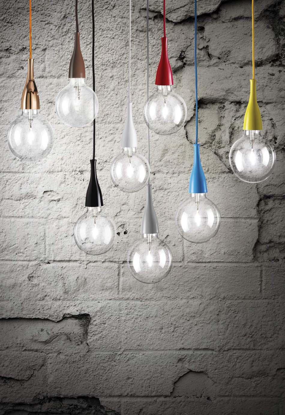 Lampade sospensione Ideal Lux Minimal – Bruni Arredamenti