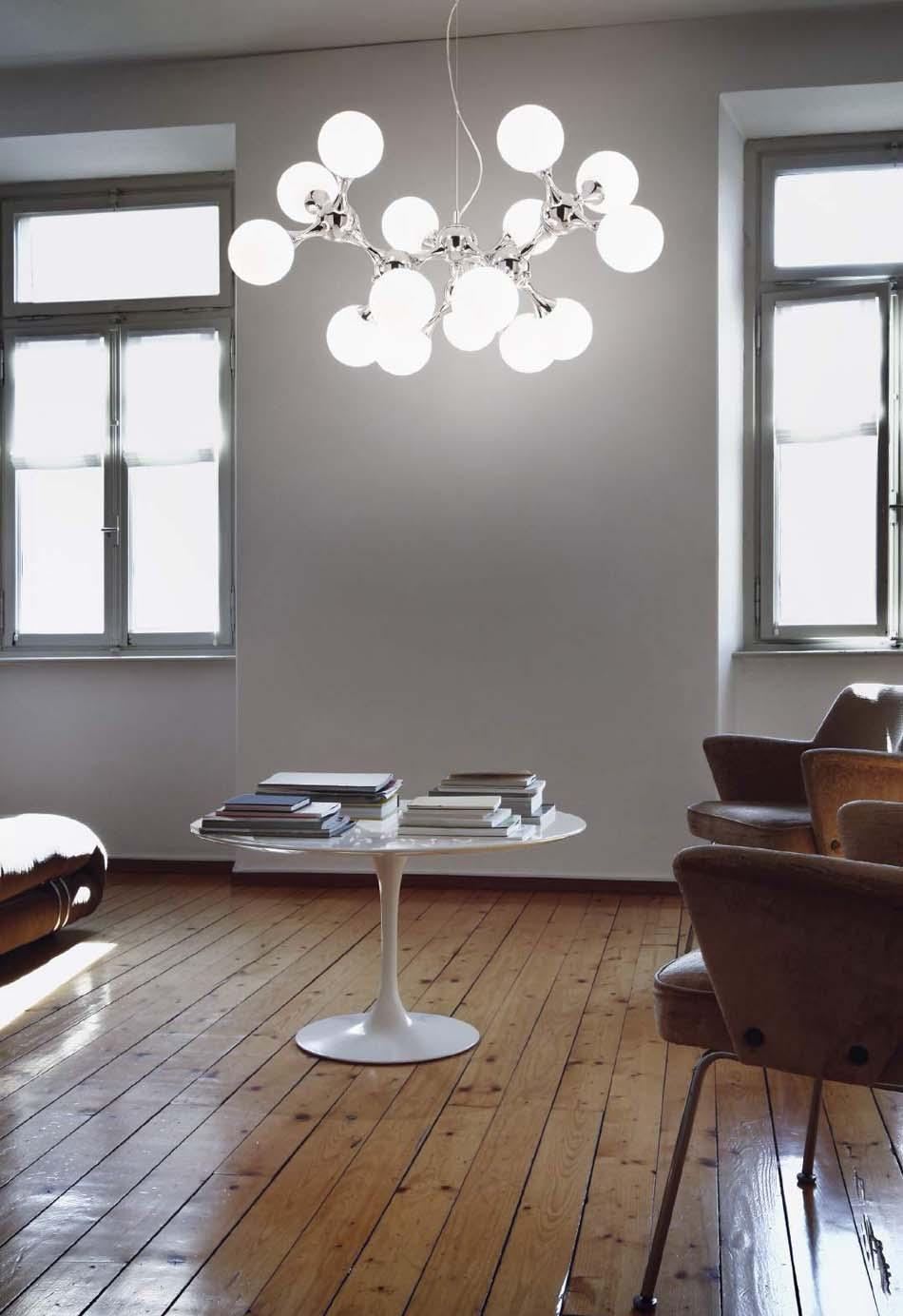 Lampade sospensione Ideal Lux Nodi Bianco – Bruni Arredamenti