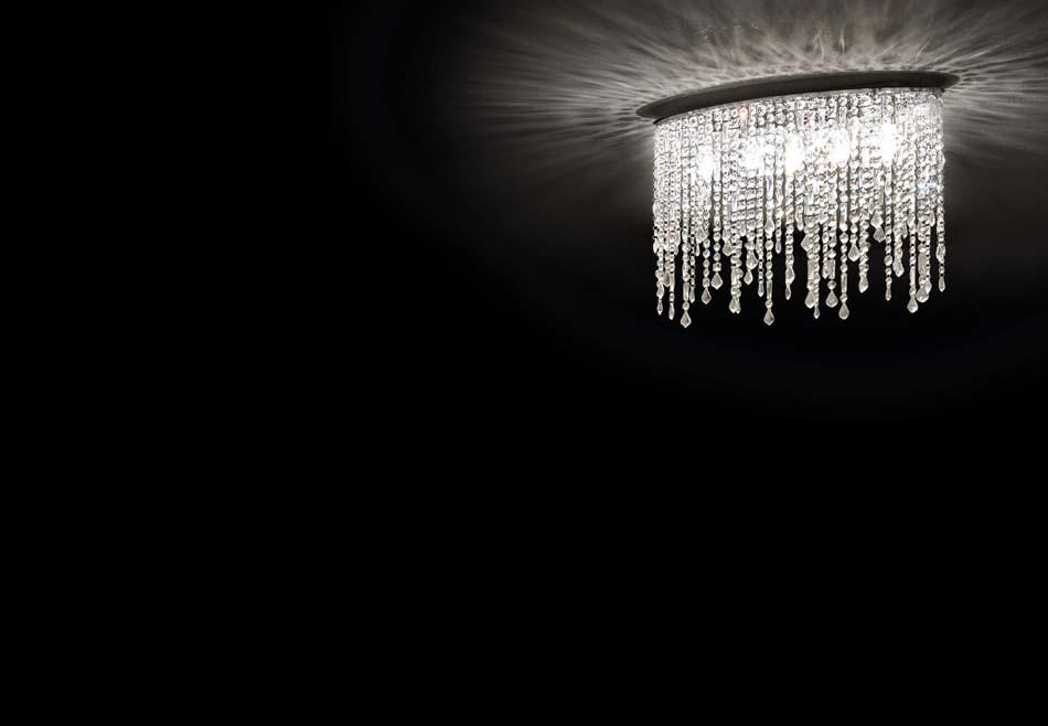 Lampade sospensione Ideal Lux Rain Clear – Bruni Arredamenti