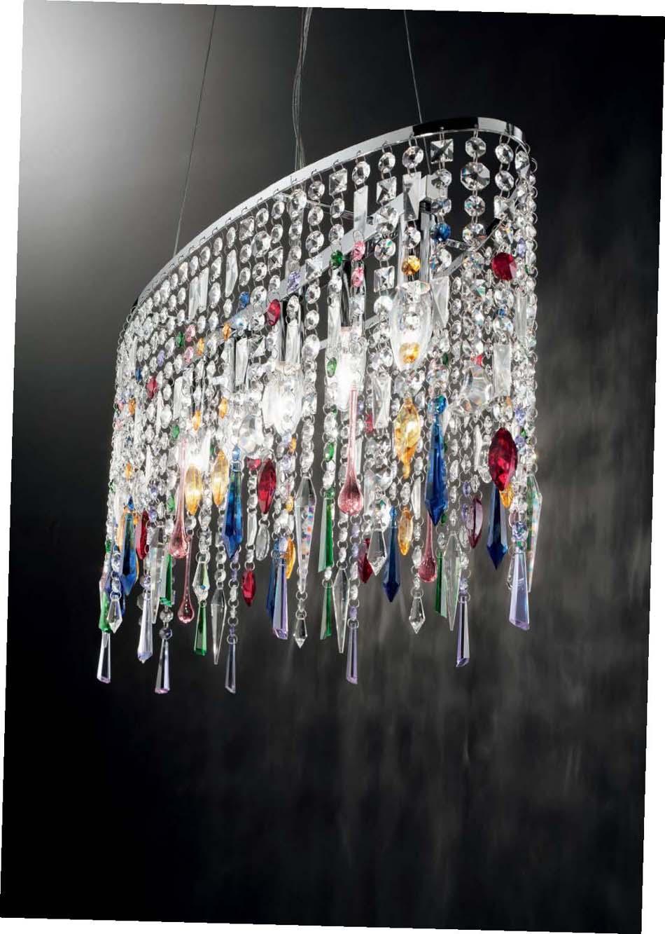 Lampade sospensione Ideal Lux Rain Color – Bruni Arredamenti