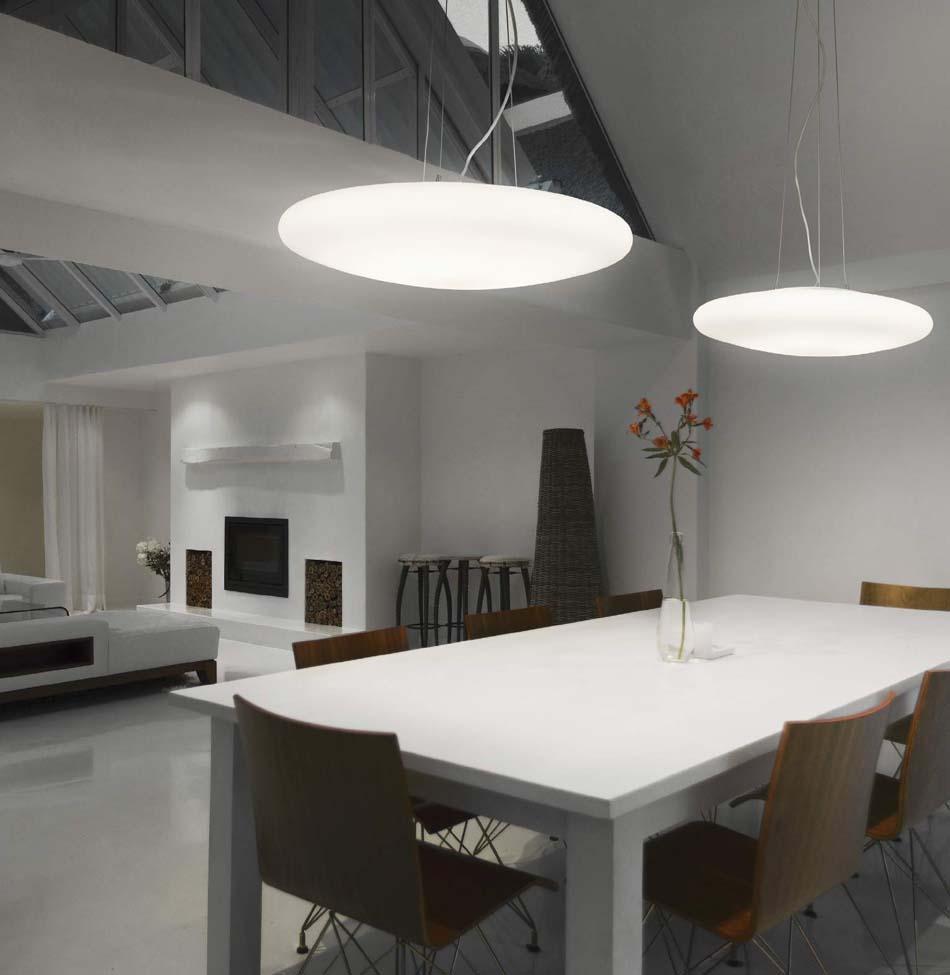 Lampade sospensione Ideal Lux Smarties Bianco – Bruni Arredamenti