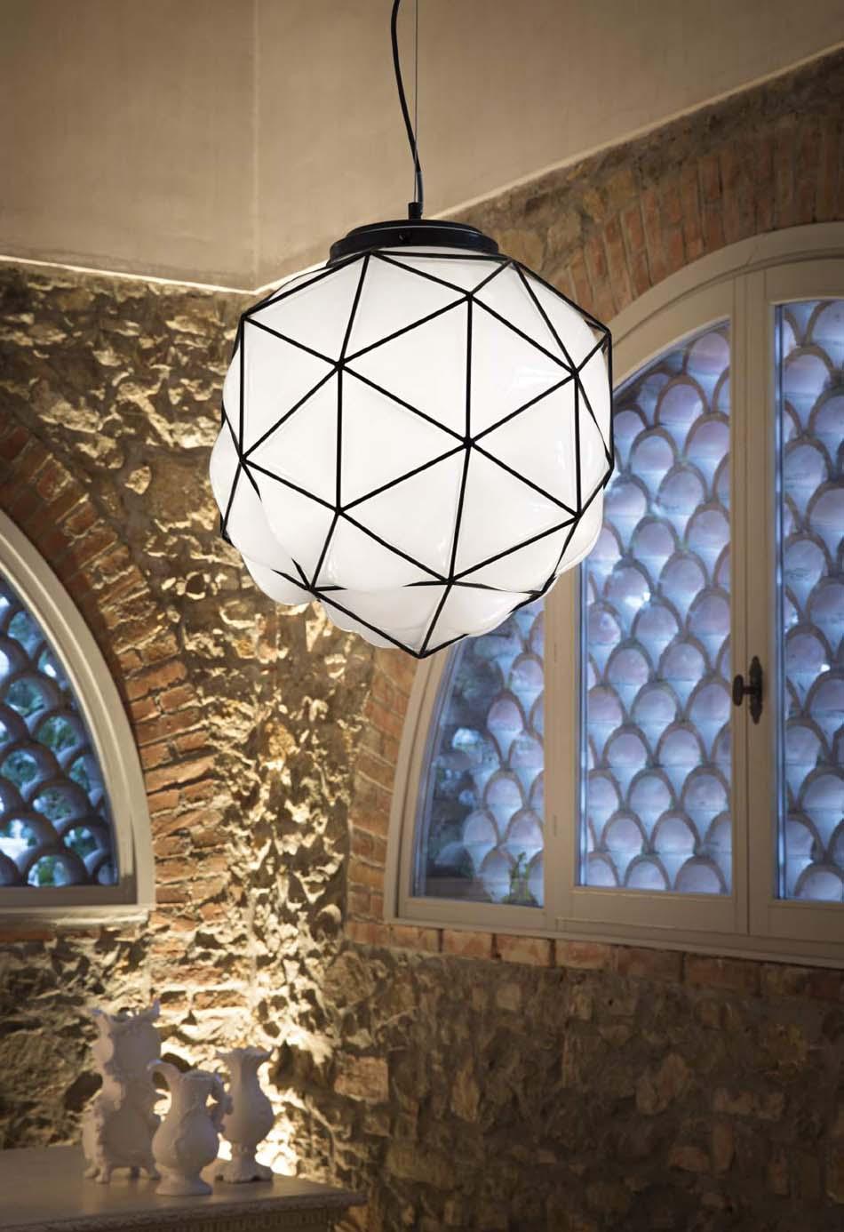 Lampade sospensione Ideal Lux maglie – Bruni Arredamenti