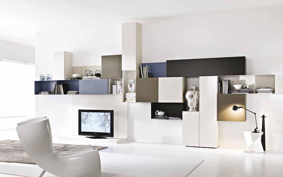 Mobilgam Living Moderno – Bruni Arredamenti – 105