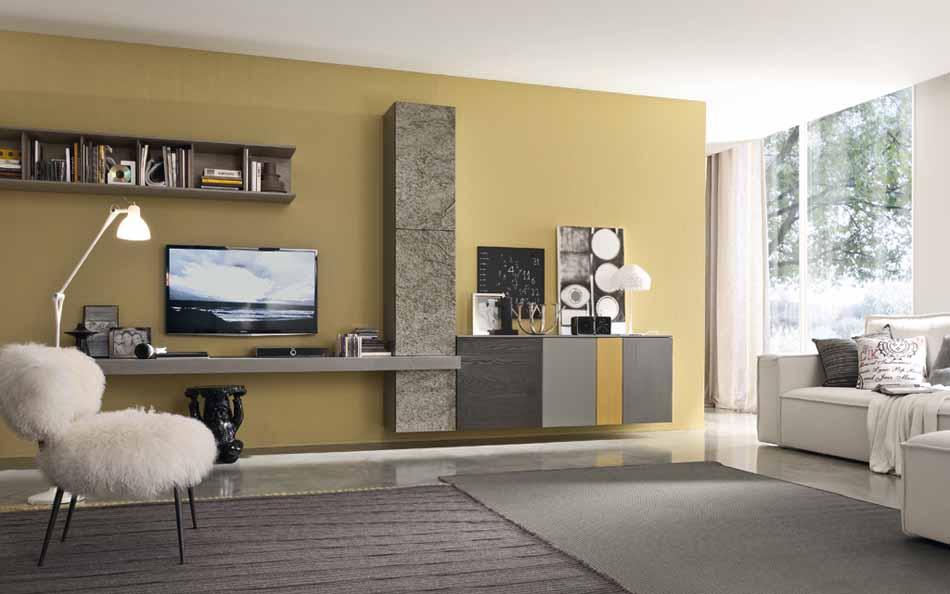 Mobilgam Living Moderno – Bruni Arredamenti – 123
