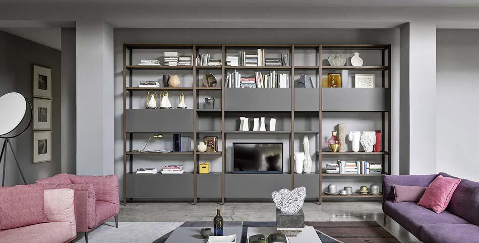 Novamobili Librerie Moderne Componibili – Bruni Arredamenti – 102