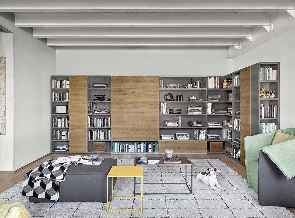 Novamobili Librerie Moderne Componibili – Bruni Arredamenti – 107