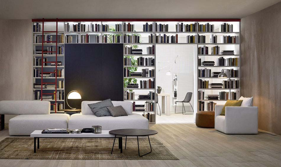 Novamobili Librerie Moderne Componibili – Bruni Arredamenti – 110