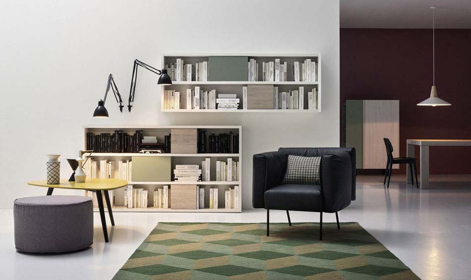 Novamobili Librerie Moderne Componibili – Bruni Arredamenti – 115