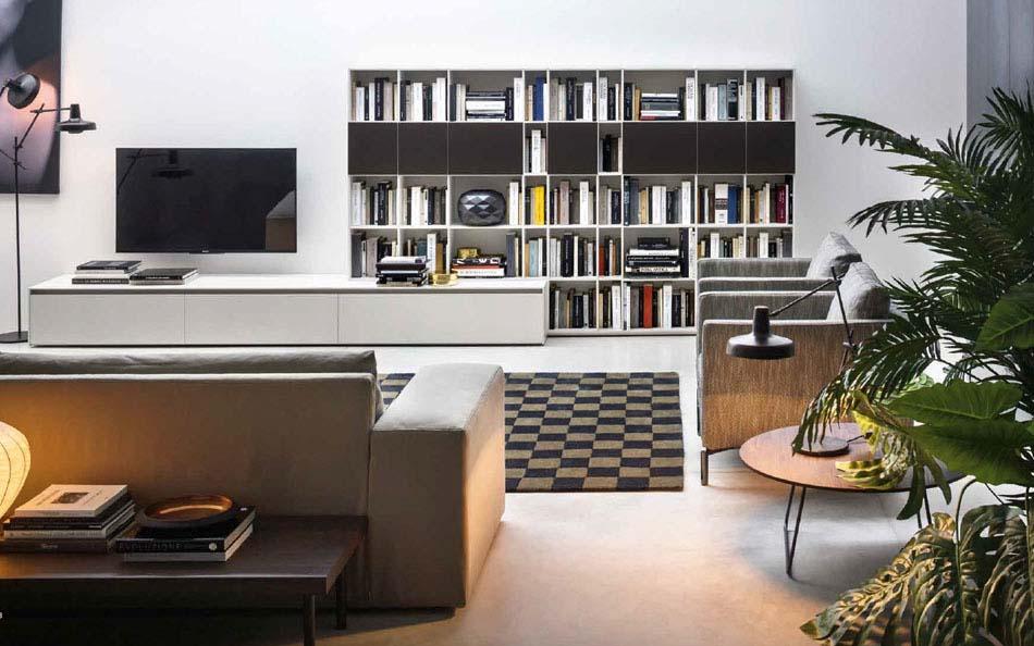 Novamobili Librerie Moderne Componibili – Bruni Arredamenti – 120