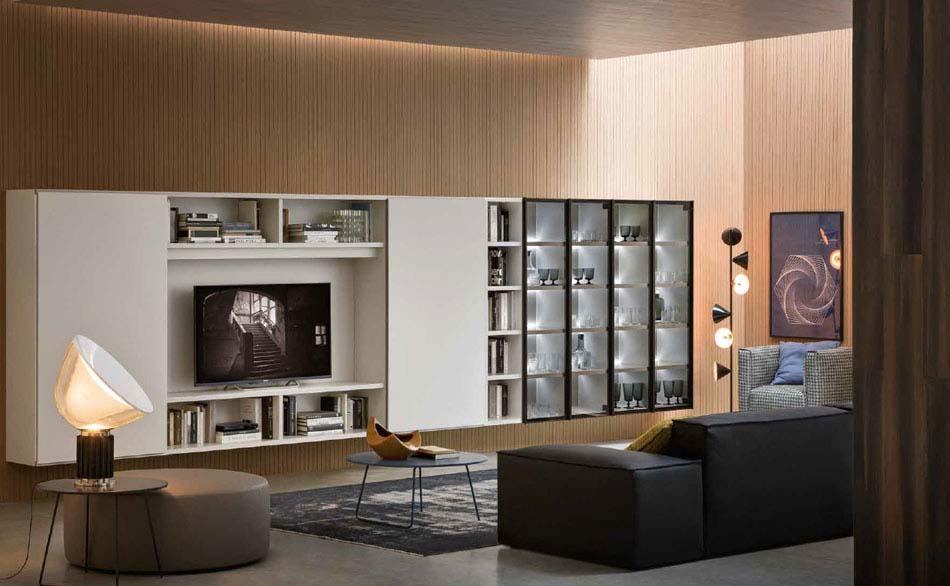 Novamobili Librerie Moderne Componibili – Bruni Arredamenti – 121