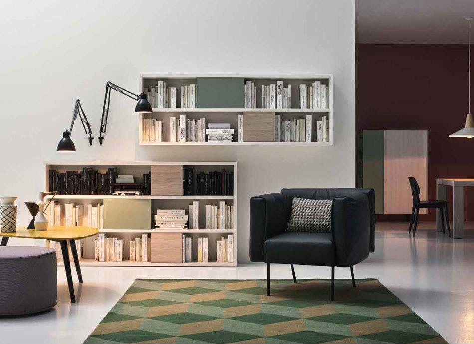Novamobili Librerie Moderne Componibili – Bruni Arredamenti – 122