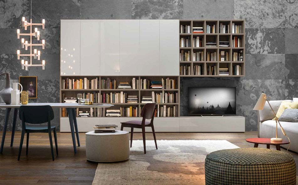 Novamobili Librerie Moderne Componibili – Bruni Arredamenti – 123