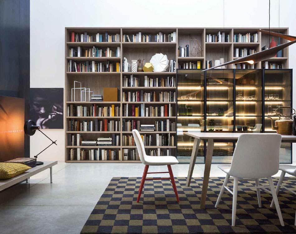 Novamobili Librerie Moderne Componibili – Bruni Arredamenti – 126