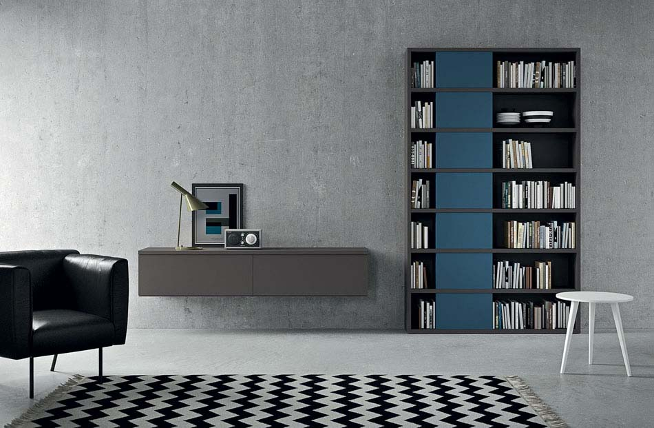 Novamobili Librerie Moderne Componibili – Bruni Arredamenti – 129