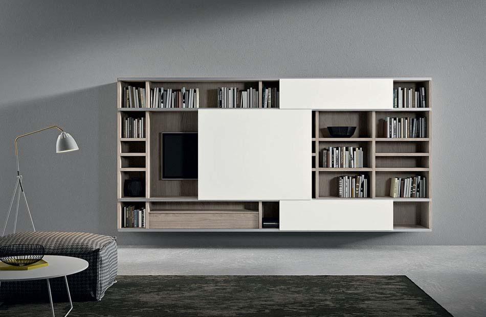 Novamobili Librerie Moderne Componibili – Bruni Arredamenti – 130